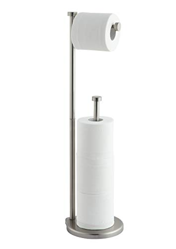 Top 10 best selling list for brushed nickel free standing toilet paper holder
