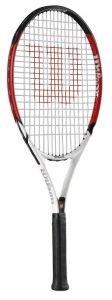 Wilson Roger Federer 25, BESAITET Tennisschläger für Kinder