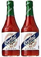 Crystal Hot Sauce, Louisiana's Pure Hot Sauce, 12 Fluid Ounces - PACK OF 6