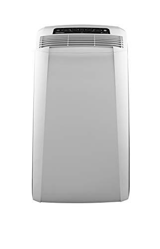 De\'Longhi Pinguino PAC CN93 Eco mobiles Klimagerät mit Abluftschlauch, Klimaanlage für Räume bis 90 m³, Luftentfeuchter, Ventilationsfunktion, 12h-Timer, weiß
