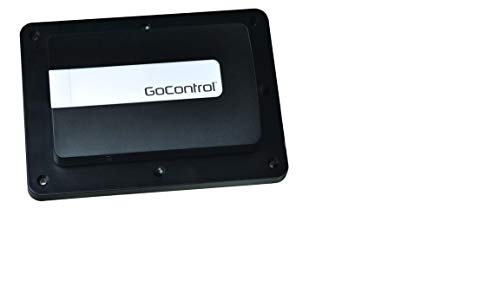 GoControl GD00Z-8-GC: Z-Wave Plus S2 Security, Black, Small