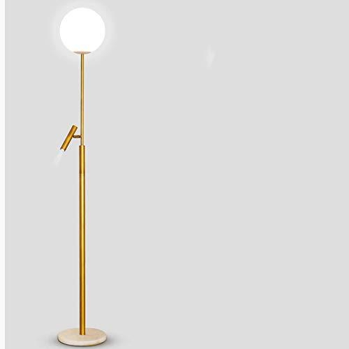 Lámpara de Pie Lámpara de pie ajustable con luz de lectura por luz Lámpara de pie moderna para sala de estar / lámpara de oficina de 70 pulgadas de altura - con lámpara de esquina lateral lateral Luz