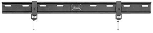 Klip Xtreme UltraSlim TV Wall Mount- Fixed TV Mount for Flat Screens 36 inch to 65 inch LED/LCD or Plasma- 132Lbs Capacity- Less Than 1 inch Wall Space Design- VESA 800x400 Max