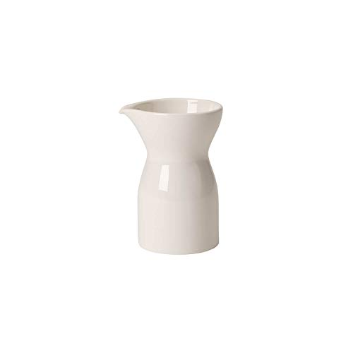 Villeroy & Boch 10-4130-0760 Lechera Baja de 200 ml, Porcelana, Blanco, 1 pieza