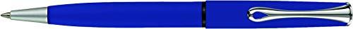 DIPLOMAT - Kugelschreiber Esteem Blau Matt easyFlow - Schick und elegant - 5-Jahre-Garantie - Blau Matt