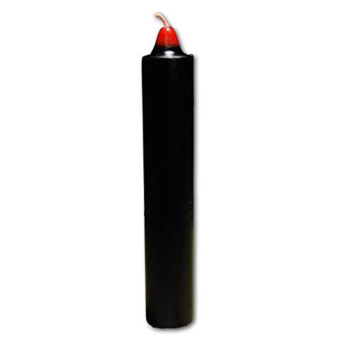 Jumbo Candela Reversibile Nero Rosso – Fluch umkehren Lu Fluch Invertire Candle Black Red su Voodoo, Hoodoo, Conjure