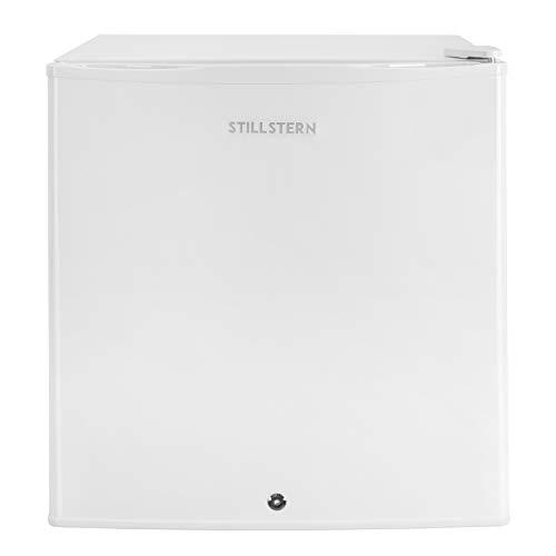 Mini-Kühlschrank mit Schloss A++ (45 Liter) Leise ✓ Frostfach ✓ Abtauautomatik ✓ Eierablage ✓ Türablagen ✓ Minikühlschrank