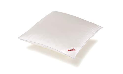 PARADIES Kissen 80x80 cm Softy Cool, Öko-Tex Zertifiziert Standard 100 Klasse 1, medizinisch getestet - das atmungsaktive und kühlende Kopfkissen