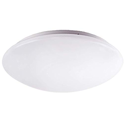 OSTWIN 11 LED Light Fixture-Ceiling Lights for Kitchen Closet Hallway Bathroom Bedroom-Dimmable-Easy Install-20 W (100W Equivalent)-1865 Lm-5000K (Daylight)-Acrylic White Shade-ETL&Energy Star Listed