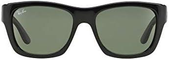 Ray-Ban 53MM Solid Rectangular Sunglasses