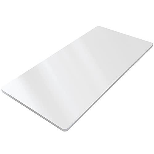 Flexispot PR1208-Weiß, Holzwerkstoff, Weiß, 120 x 80 cm