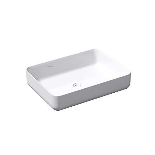 Lavabo vasque /à poser blanc 60cm lave main Sogood colossum-806 51x38x12cm