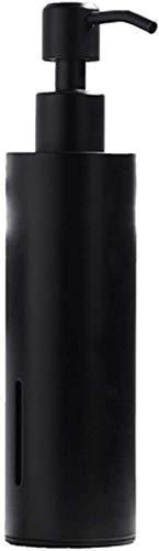 Dispensador de jabón Dispensador de jabón Bomba Dispensador de jabón 304Stainless Steel Hand Hand Bomba de jabón cuadrado Botella de jabón cuadrado Bombilla de metal negro Botella Dormitorio y cocina