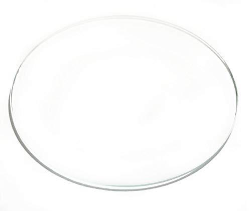 Plano - Espesor 1.5 mm - Diámetro 44 MM, Óptica, Lente, Cristal,...