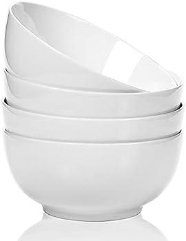 4-Pack AnBnCn Soup Ceramic Microwave Safe Bowls