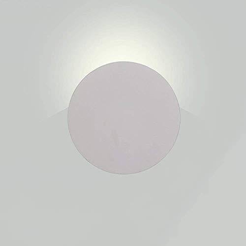 JPL Lámparas novedosas, aplique de pared moderno Siet de 5 W, accesorio de iluminación LED Cob, luz de pared frontal de espejo de aluminio creativo, lámparas de pared para interiores para sala de...