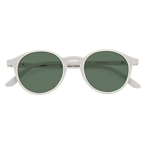 DIDINSKY Gafas de Sol Polarizadas para Hombre y Mujer. Tacto Goma, Lentes Antireflejantes con Protección UV y Visión Ultra Nítida. Ash - UFFIZISUN