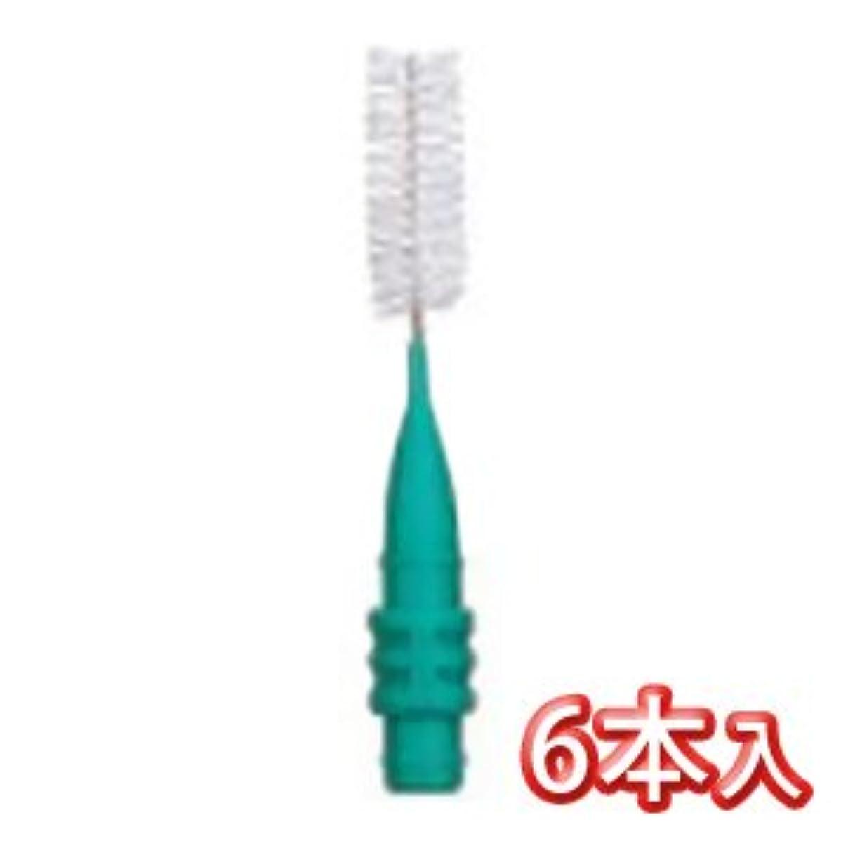 常習的すずめ上プロスペック 歯間ブラシ2 スペアーブラシ のみ 6本入 LL グリーン
