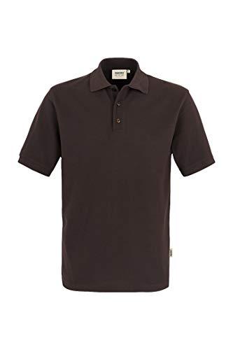 "HAKRO Polo-Shirt ""Performance"" - 816 - chocolate - Größe: 3XL"