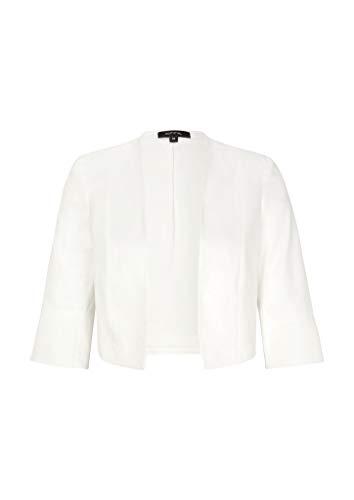 Comma 8E.095.50.6774 Blazer, Bianco (0120 White), 50 Donna