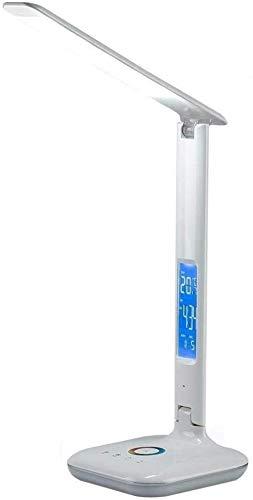 Lámpara de mesa LED Lectura Protección ocular Lámpara de escritorio Lámpara de mesa LED táctil Luz de oficina regulable 3 tipos de modo de luz 4W Temperatura de color blanco 2800K-6000K