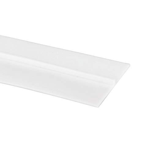 Dreamfly Rubber Seal Strip Door Strip Bottom Sealing Sticker Adhesive Anti-Collision for Doors Window 1 Meter