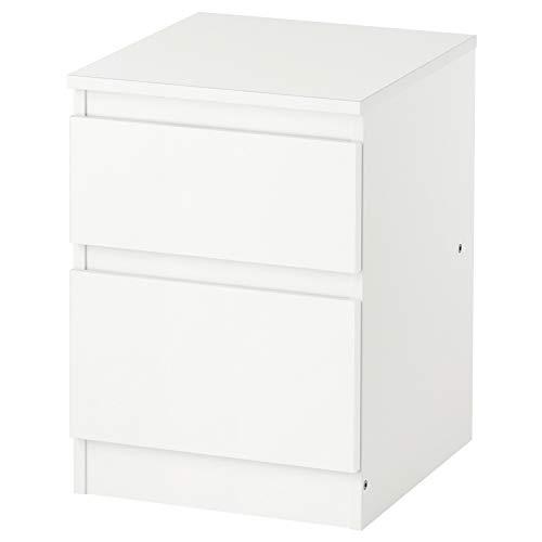 IKEA ASIA KULLEN Cassettiera 2 cassetti bianco