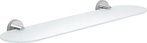 Etagere 60 cm verre tempere 52,5x14,4x5 cm réf 23191360200
