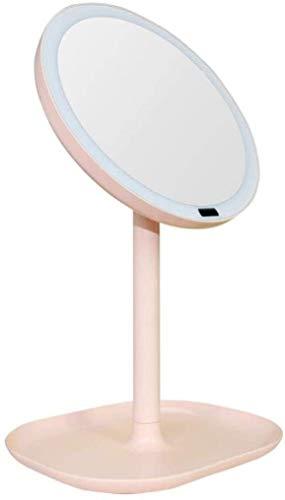 FANPING Table Miroir de Maquillage avec éclairage LED LED Smart Body Induction Lighting Miroir avec 30 Perles de Lampe LED 360 ° Rotation de comptoir