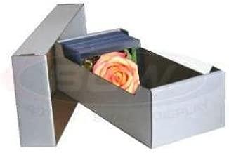 Cardboard Postcard Storage Box for up to 700 Postcards by BCW