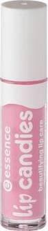 Gasolina Lip candies Beautifying Lip Care, Gloss Labial enriquecido en aloe vera para los labios extraligera y brillantes de color N ° 05Pink Lollipop, 4ml, 0.13Fl. oz