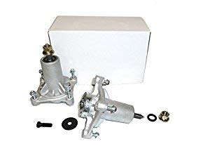 Set of Two 187292, 192870, 532187292, 532192870 Spindle Assembly with Grease Zerk, Husqvarna Craftsman Poulan (1 Pack)