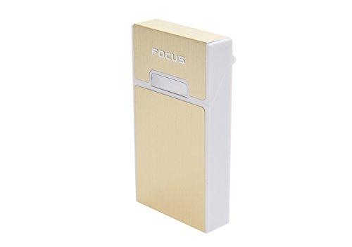 Quantum Abacus Etui aus Aluminium und Kunststoff, für Zigarettenschachteln der Typen Slim und Superslim (100mm), BZW. 7-9 Normale/Kingsize-Zigaretten, Mod. 537-03 (DE)