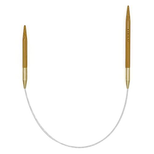 Seeknit Umber 非対称輪針 30cm (JP 8号(4.5mm))