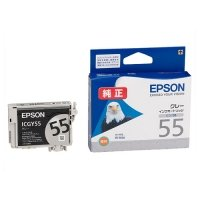 EPSON インクカートリッジ グレー ICGY55 1個
