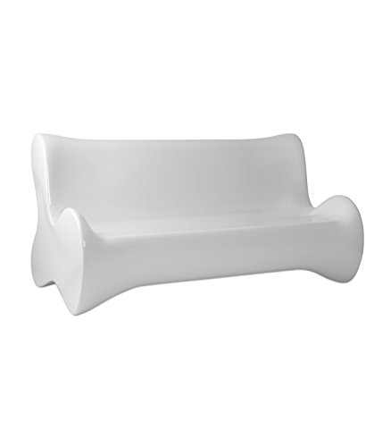 Vondom - Sofá, color blanco brillante