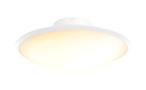 Philips Hue Phoenix Dimmable LED Smart Ceiling Light, Opal White (Requires Hue Hub, Works with Alexa, Apple HomeKit, and Google Assistant)