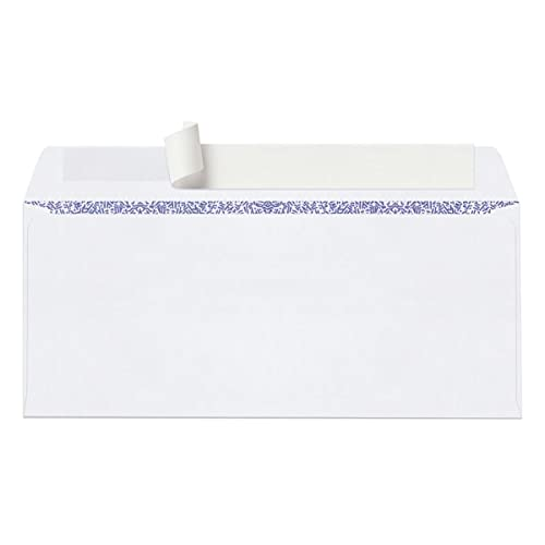 Office Depot Double-Window Envelopes, 9 (3 7/8in. x 8 7/8in.), White, Clean Seal(TM), Box of 250, 77166 Photo #2