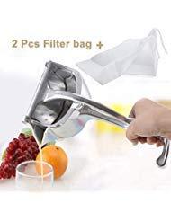 SHANGPEIXUAN Manual Fruit Juicer Alloy Lemon Squeezer Citrus Press Heavy Duty Hand Press Fruit Juicer Detachable Lime Squeezer