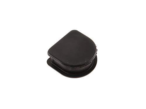 FEZ Gummi - Verschlußstopfen groß, für Grundplatte, ohne Bohrung - Simson S50, KR51/1 Schwalbe, SR4-3 Sperber, SR4-4 Habicht