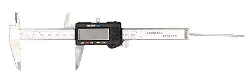 Brilliant Tools BT114900 Pied à Coulisse numérique, Bleu/Noir
