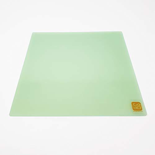 GO-3D Print Plaque de fibre de verre en polypropylène pour lit chauffant MK2 MK3 220 mm x 220 mm