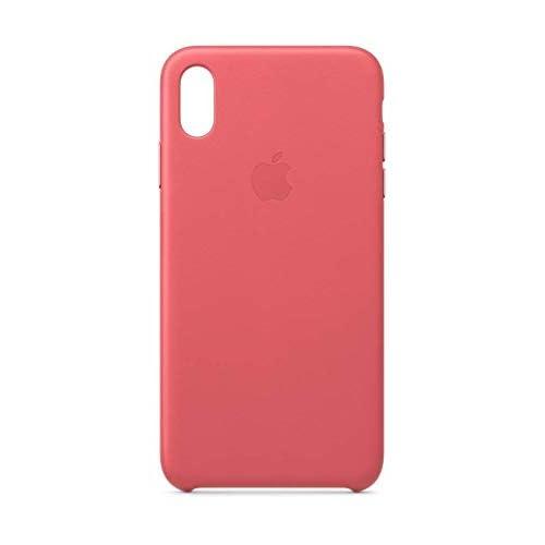Apple Custodia in pelle (per iPhoneXSMax) - Rosa peonia