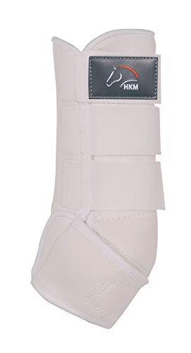 HKM Softoprengamaschen -Colour-, weiß/weiß, M