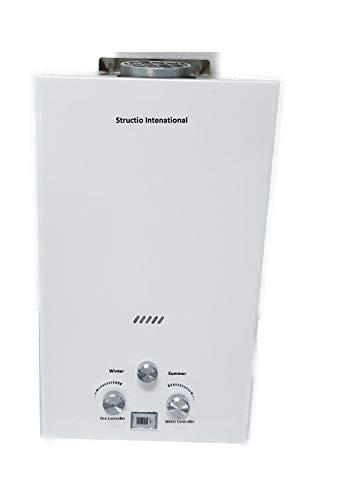 Calentador de gas Agua Caldera Caldera Gas Calentador–Calentador de agua portatil camping ducha 10litros camping ducha Caballos ducha