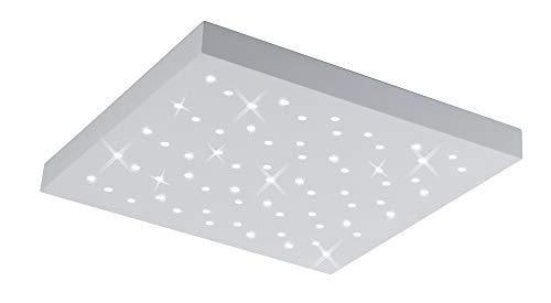 Trio Leuchten LED Deckenleuchte Titus 676615031, Metall / Aluminium, 22 Watt, Helligkeit und Lichtfarbe einstellbar
