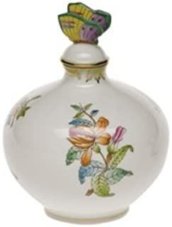 Herend Queen Victoria Perfume Bottle with Butterfly