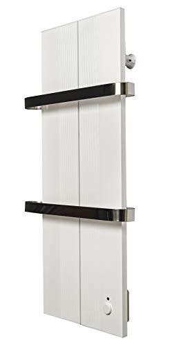 Scaldasalviette Elettrico-Portasciugamani elettrico, Emissione di Calore 400-750 W, termostato ***** 5 anni di garanzia***** Radiatore da Bagno