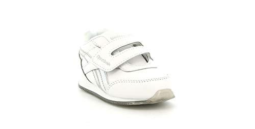 Reebok Royal CLJOG 2.0 KC, Zapatillas de Running Mujer, Blanco/Plamet/Blanco, 37 EU