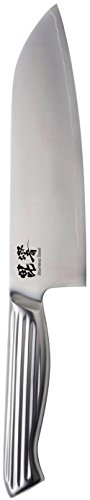 """Pearl Metal """"HIKYO"""" All Stainless Professional Kitchen Knife - Japan Import (11.5 inch - Santoku Knife)"""
